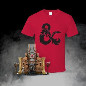 Game of Thrones Construction Kit and D&D T-Shirt - Unisex - L